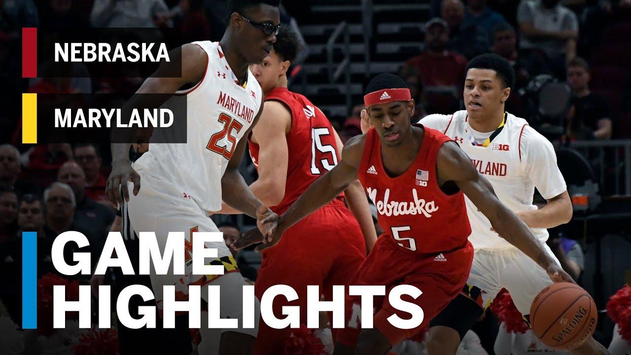 Highlights: Cornhuskers Upset the Terrapins | Nebraska vs  Maryland | March  14, 2019