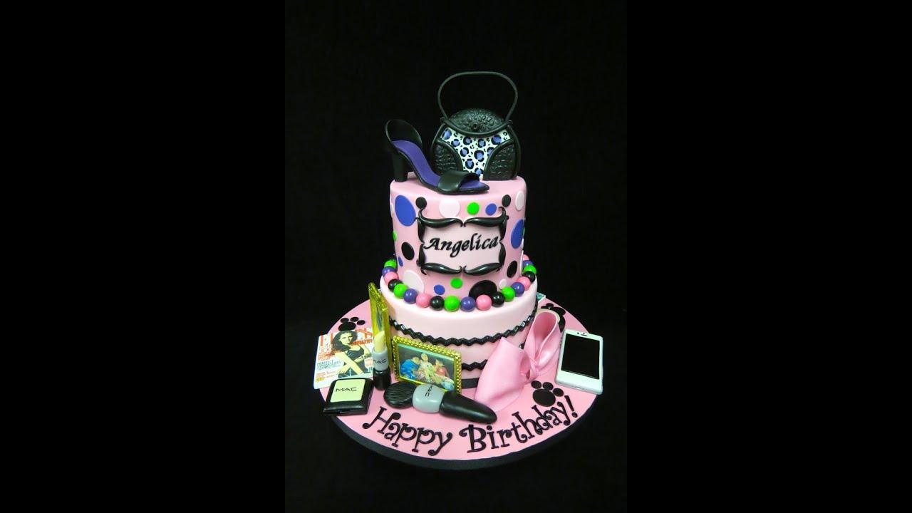 Girly Diva Cake Youtube