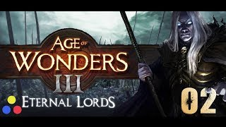 Age of Wonders III - Eternal Lords | Warlord Humans - Let's play | Episode 2 [Dwarves & Undead]