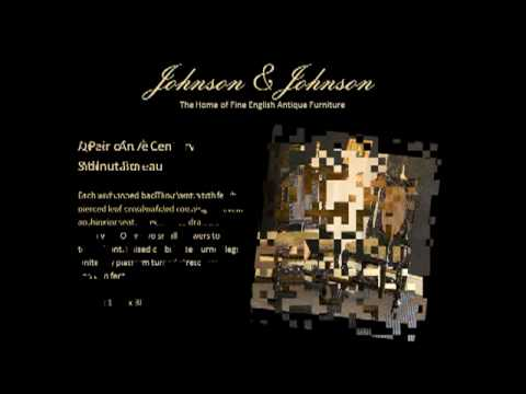 Johnson & Johnson Fine English Antique Furniture