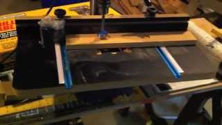 Harbor Freight Drill Press Extension Table With Fence Review And Demo