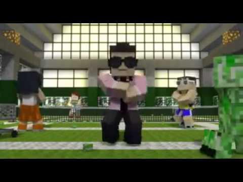กังนัมสไตล์ Minecraft ฮาๆ 55555+ จาก MOGON.GOME.TV