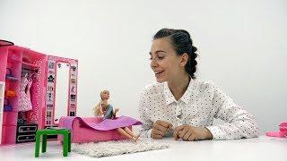 Видео Кукла Барби. Идеальная Фигура! Коврик для ЙОГИ своими руками. Мастерская Барби для девочек