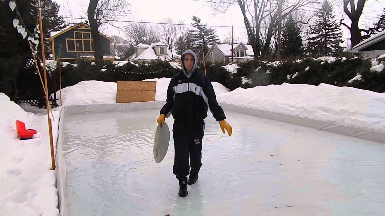 xtreme diy ice rink skimboarding youtube