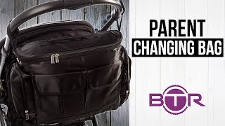 Btr Changing Bag - With Bottle Holder & Mini Changing Mat