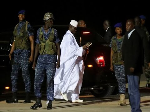 Gambia's New President Fears No Money In The Coffers Left After Former Ruler Yahya Jammeh