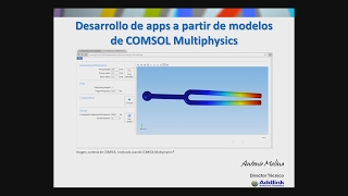 Application Builder de COMSOL Multiphysics