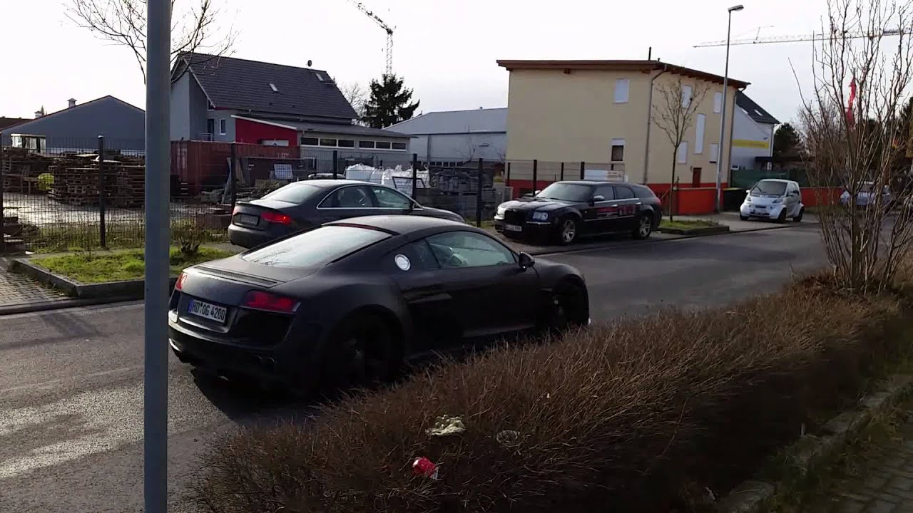 audi r8 prior breitbau mieten bei youtube. Black Bedroom Furniture Sets. Home Design Ideas