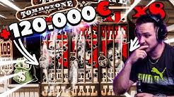 Record win 120.000 €  in TOMBSTONE Slot   - Top 5 Big wins in casino slot