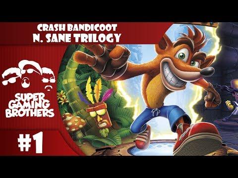 SGB Play: Crash Bandicoot N.Sane Trilogy - Part 1   EEEEEEE!!!