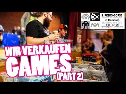 RETROBÖRSE HAMBURG 2017|Wir verkaufen Games (Part 2)