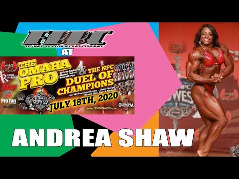Omaha Pro 2020 – Andrea Shaw – Women's Bodybuilding