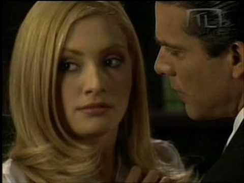 Primer beso de Cecilia y Luciano