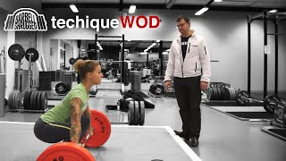 Anders Lindsjo Coaching the Snatch w/ Christmas Abbott - TechniqueWOD