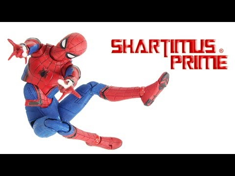 MAFEX Spider-Man Homecoming Medicom Toys 6 Inch Import Movie Action Figure Toy Review