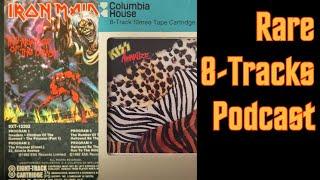 Rare 8-Tracks: KISS, Iron Maiden, Cheap Trick, Motley Crue, Ratt, etc