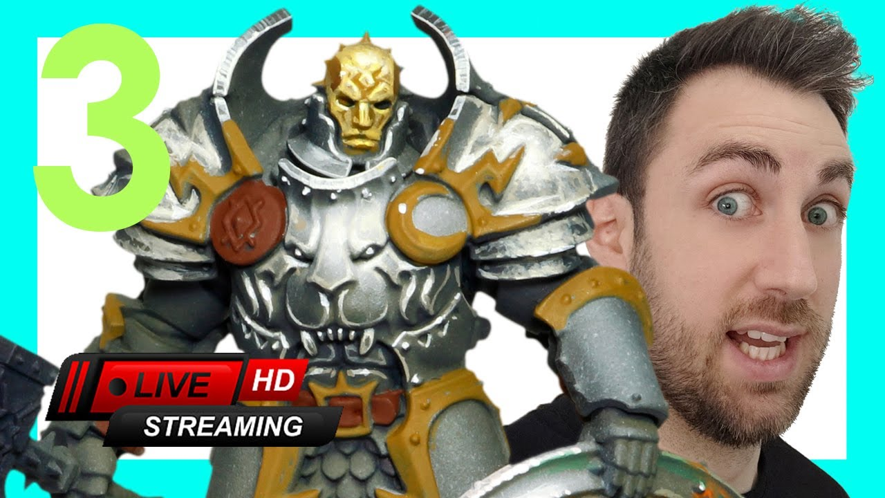 ⭐How to paint NMM⭐ on a Stormcast from AGE of SIGMAR miniature for BEGINERS and ADVANCED