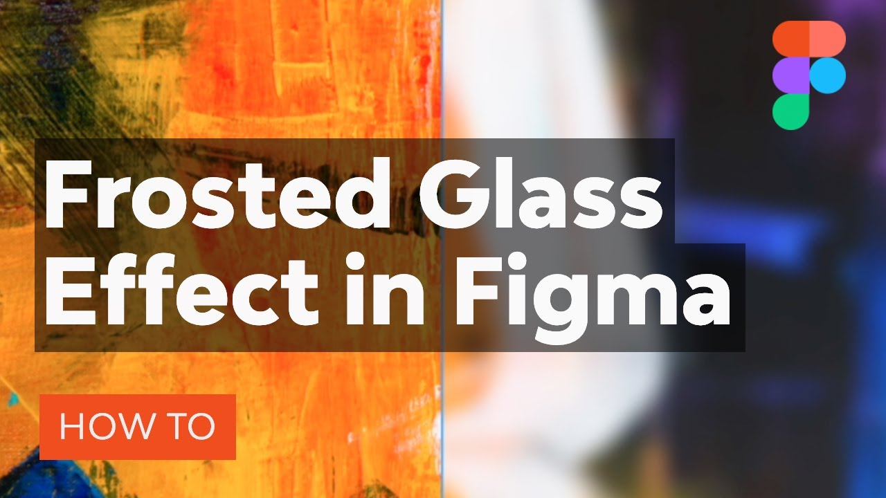 How to Create a Frosted Glass Effect in Figma