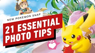 21 Essential New Pokemon Snap Tips
