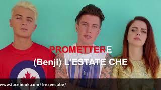 Benji & Fede ft. Annalisa - Tutto per una ragione - Karaoke con testo