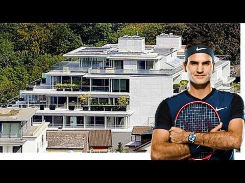 Roger Federer's House - Roger Federer Glass Mansion £6.5 Million - Tennis Star