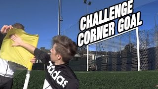 "Epic corner challenge goal ""free kick curve ball"" - i2bomber"