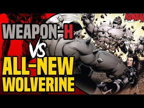 Descargar Weapon H Hulk ( Batch H ) vs All-New Wolverine and Old Man Logan