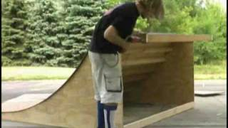 Building A Mini Ramp