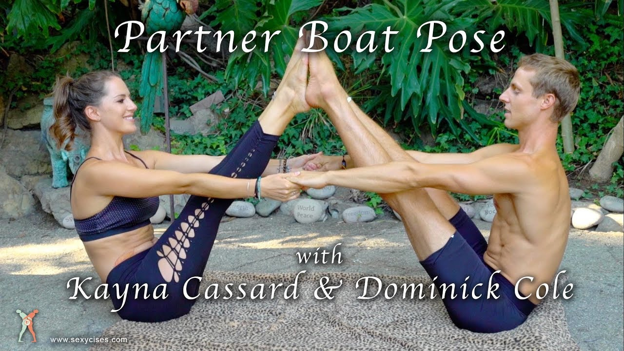 Couples Yoga Partner Boat Pose Youtube