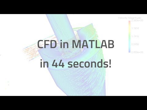 QuickerSim CFD Toolbox for MATLAB - Teaser
