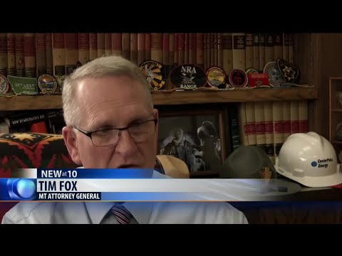 MT Attorney General Fox reveals he had colon-cancer surgery