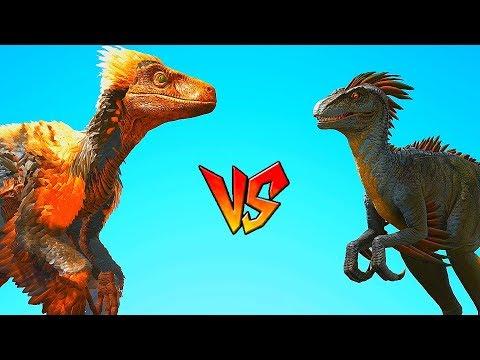 Ark Survival - DEINONYCHUS vs RAPTOR/ALPHA RAPTOR [Ep.79]