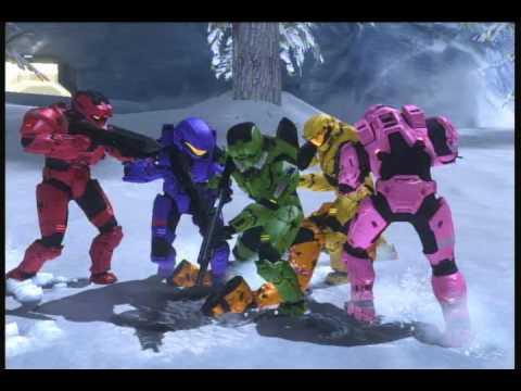 12 Days of Halo Christmas