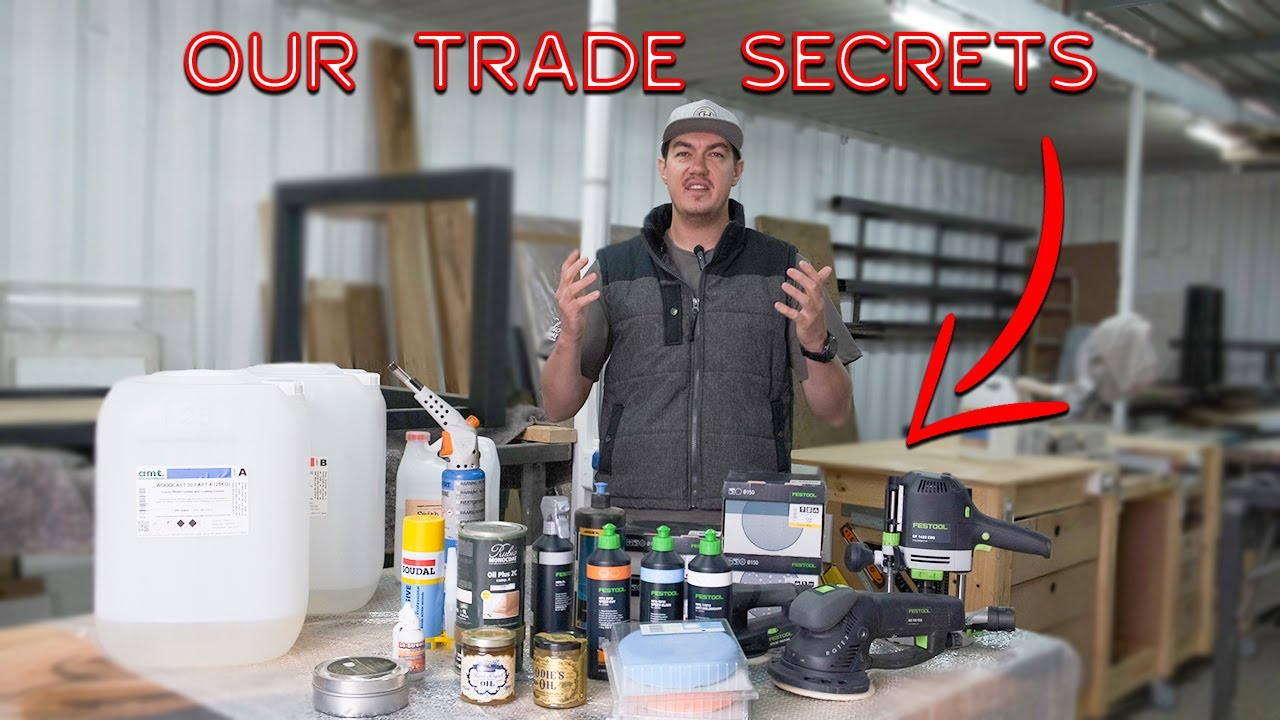 What Epoxy Products We Use   Our Trade Secrets