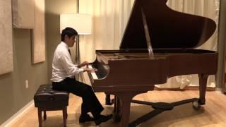 Ceballos performs Bach
