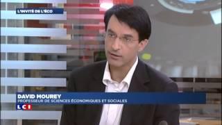 L'enseignement de l'économie au Lycée par David Mourey sur LCI le 4 09 2012