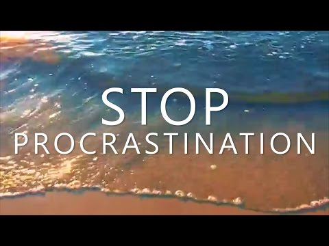Hypnosis to Stop Procrastination (Overcome Anxiety, Perfectionism & Stop Procrastinating)