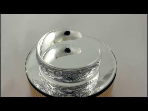 Апанде: филигранный браслет из серебра Кубачи.
