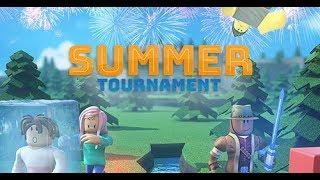 The Summer 2018 - Roblox Event Summer Tournament 2018 Full