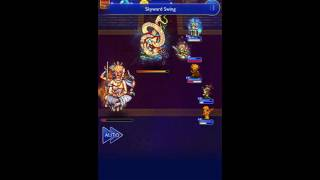 FFRK - Lords of the Eidolons (Ultimate +) Asura + Leviathan