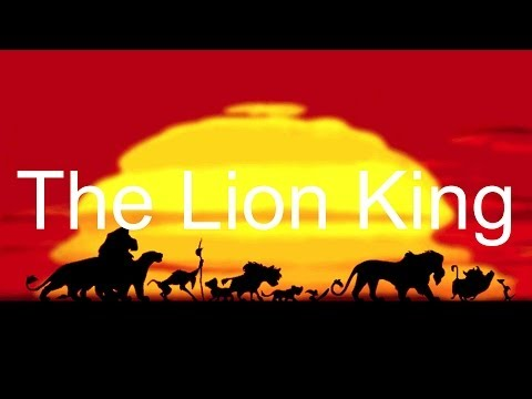 LE ROI LION reprise piano/piano cover [HD/HQ]