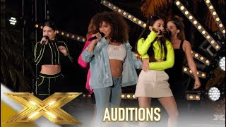 V5: Five Latino Girls Put Together To Make A Group..See What Happens!| The X Factor 2019: Celebrity