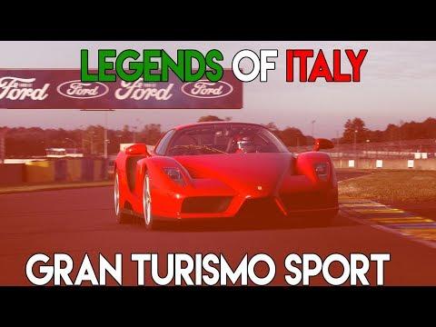 Gran Turismo Sport: Legends of Italy!