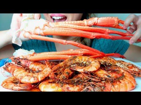 200K 🙌🏼*No Talking* ASMR 🦐🦀CAJUN SEAFOOD BOIL (+recipe) 먹방 Eating Sounds
