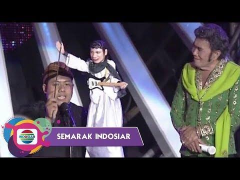 SERUU!! Putera Rhoma Irama ADAM GHIFARI main wayang bersama ayahnya  I Semarak Indosiar Surakarta