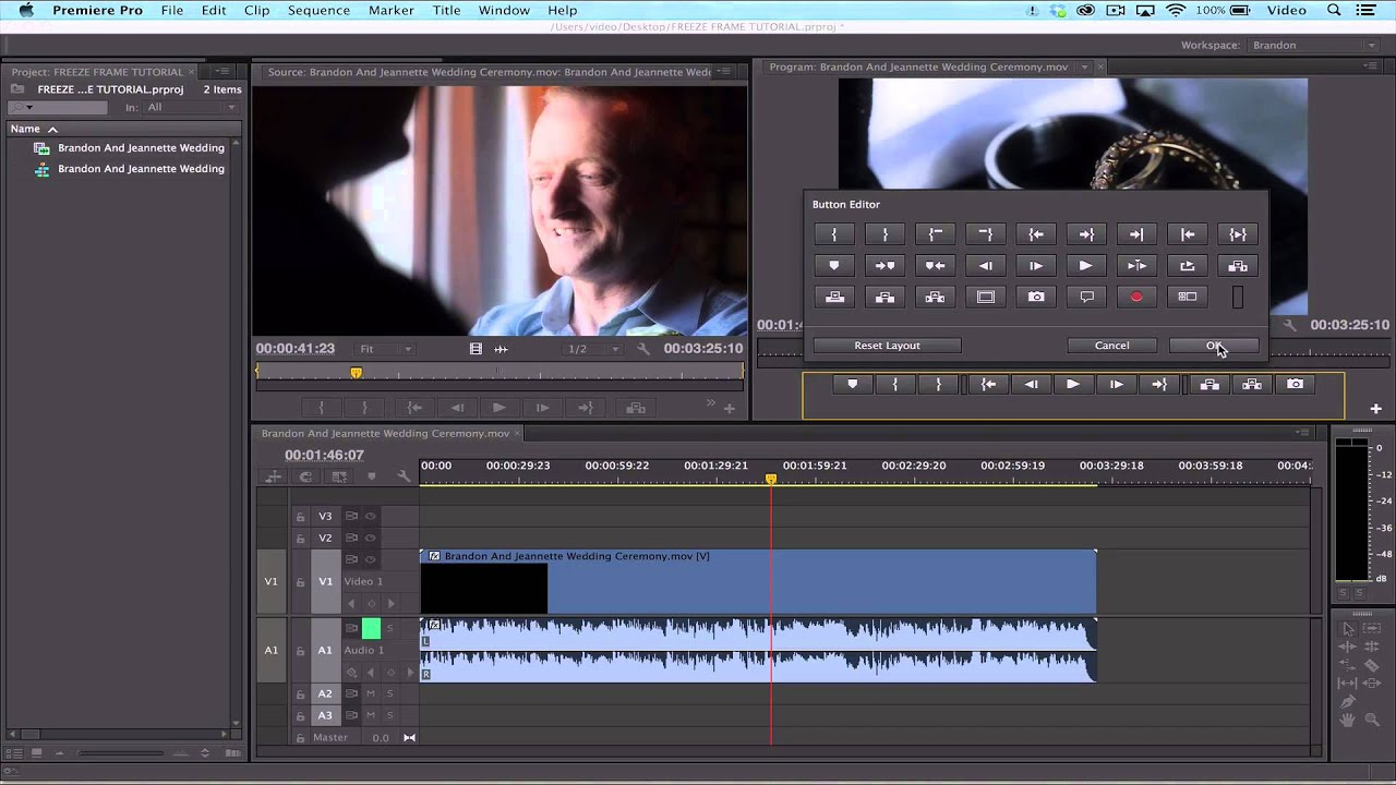 Adobe Premiere Pro CC14: How To Export A Frame Of Video - YouTube