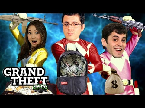 POWER RANGERS DRUG HEIST (Grand Theft Smosh)