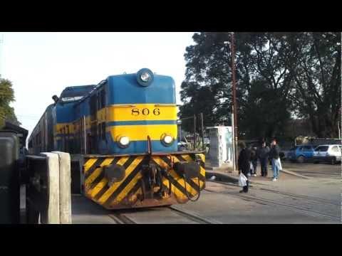 paseando por  uruguay,tren de afe en estacion las piedras.