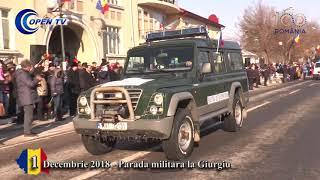 1 Decembrie 2018 - Parada militara la Giurgiu