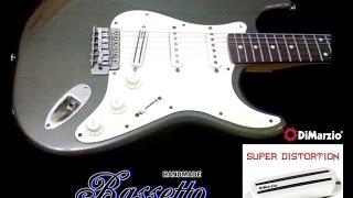"DiMarzio DP-218 Super Distortion S (Bridge) ... Gary Moore ""Style"""